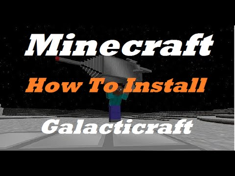 How to download and Install Galacticraft to your minecraft {1.7.10}