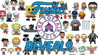Funko London Toy Fair 2019 Reveals (Funko Pops, Mystery Mini's, Dorbz, & More!)