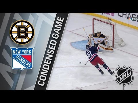 Boston Bruins vs New York Rangers – Feb. 07, 2018 | Game Highlights | NHL 2017/18. Обзор матча