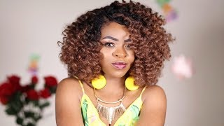Crochet Braids Tutorial... Jamaican Bounce! Quick and Easy