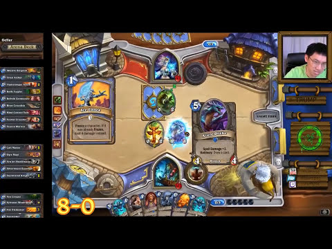 Hearthstone Shaman Arena with Trump - Full Run