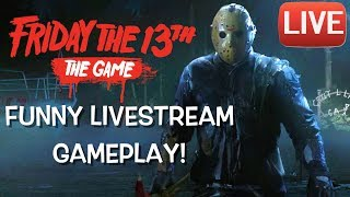 "FUNNY ""FRIDAY THE 13TH"" LIVESTREAM WITH PU55NBOOT5,HONORABLE CNOTE, JUUKO, ITSREAL85"