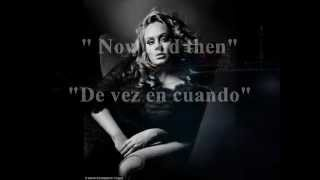 Adele Video - Adele - Now and then (Sub. Español/Inglés)