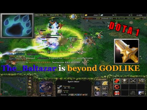 Lone Druid beyond GODLIKE ! - Dota 1 Syllabear