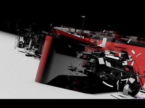 Урок № 3 Cinema 4d создание интро в стиле трансформера