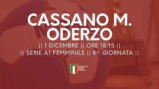 Serie A1F [8^]: Cassano Magnago - Oderzo 23-29