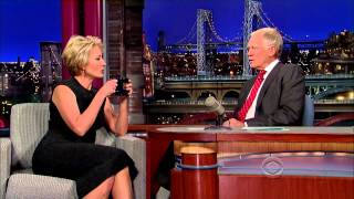 Emma Thompson on David Letterman - December 11 2013 - Full Interview
