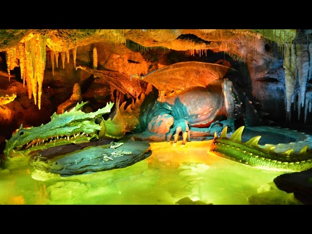 Dragon's Lair in Sleeping Beauty Castle, Disneyland Paris - Full Experience (La Tanière du Dragon)