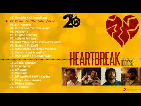 Sad Love Songs - Top Hits | Tamil | Jukebox