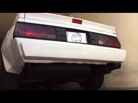 My 87' Starion Exhaust sound.