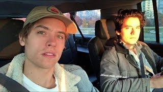 Cole Sprouse and Dylan Sprouse together