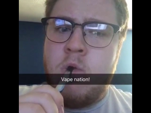 This Guy Got The Most Epic Vape Clouds!