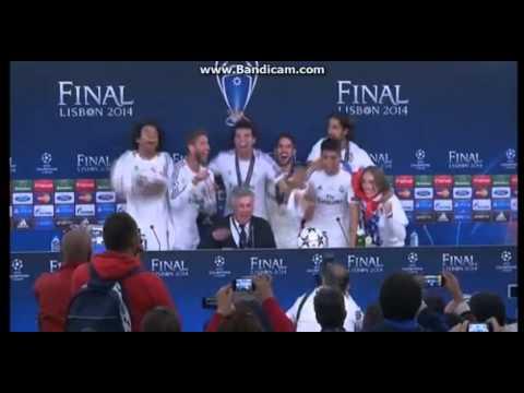 Estrellas del Madrid rompen protocolo y