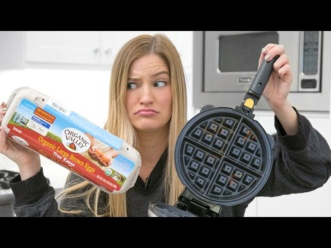 Making An Omelette In A Waffle Maker What Could Go