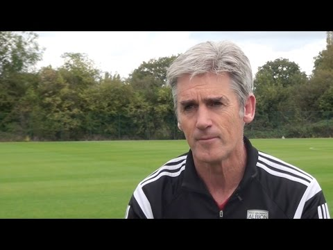 Alan Irvine expects tough opposition when West Bromwich Albion host Burnley at The Hawthorns