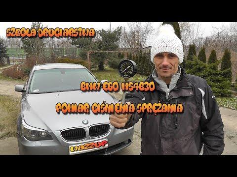 Szkoła Druciarstwa Pomiar Ciśnienia Sprężania BMW E60 M54B30 Wazzup :)