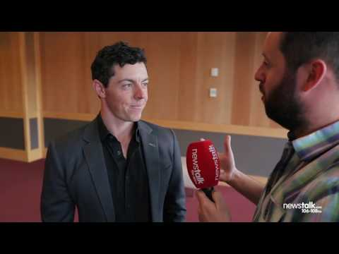 Rory McIlroy talks form, the Irish Open and meeting Paul O'Connell