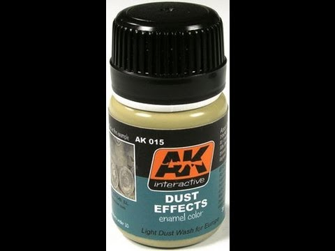 Review : AK-Interactive Dust Effects