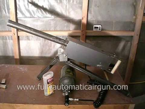 Browning M1919 inspired Fully Automatic BB gun