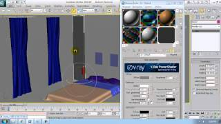 Architecture tutorial on 3ds max materials 8