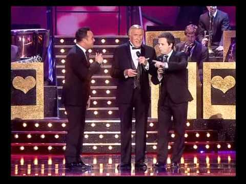 Sir Bruce Forsyth, Ant & Dec sing Let There Be Love - National Television Awards 2012