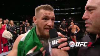 "Conor McGregor - ""I want to take this chance to apologize..."""