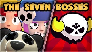 7 BEST BOSS BRAWLER to play - Big Game | Brawl Stars 🍊