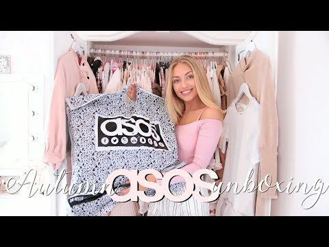 HUGE AUTUMN ASOS UNBOXING & TRY ON | Freddy My Love