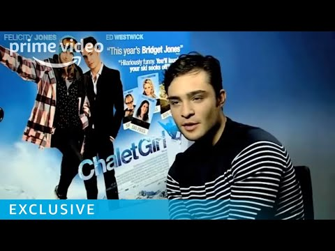 Gossip Girl's Ed Westwick & Felicity Jones on Chalet Girl