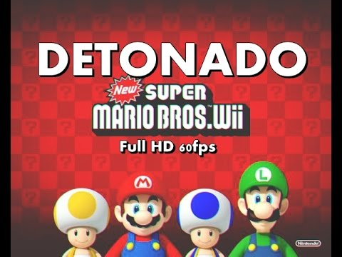 New Super Mario Bros Wii 1080p 60fps: Detonado 1
