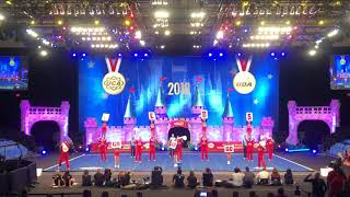 Ole Miss Coed routine at College Championships 2018