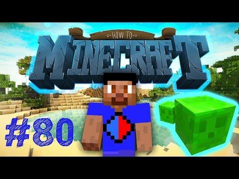 Minecraft SMP HOW TO MINECRAFT #80 'SLIME ELEVATOR!' with Vikkstar