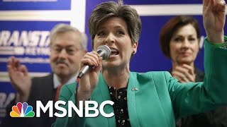 Republican Senator Joni Ernst Won