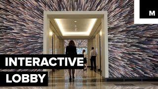 Interactive office lobby