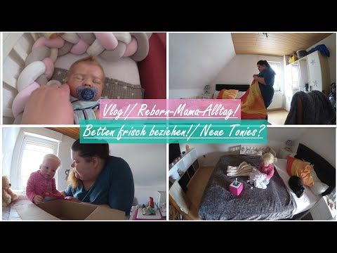 Betten beziehen! |Neue Tonies? |Reborn-Mama-Alltag! || Reborn Baby Deutsch || Little Reborn Nursery