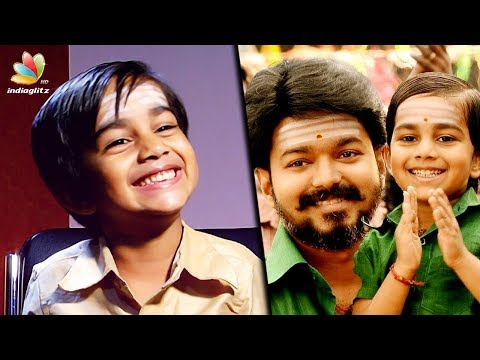 I'm a HERO but I dont have a HEROINE : Mersal Child Actor Aksath | Vijay Son Interview thumbnail