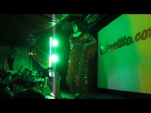 El Me mintio Mina Landa Show Trasvesti Amanda Miguel