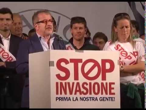 StopInvasione Milano - Intervento integrale di Roberto Maroni