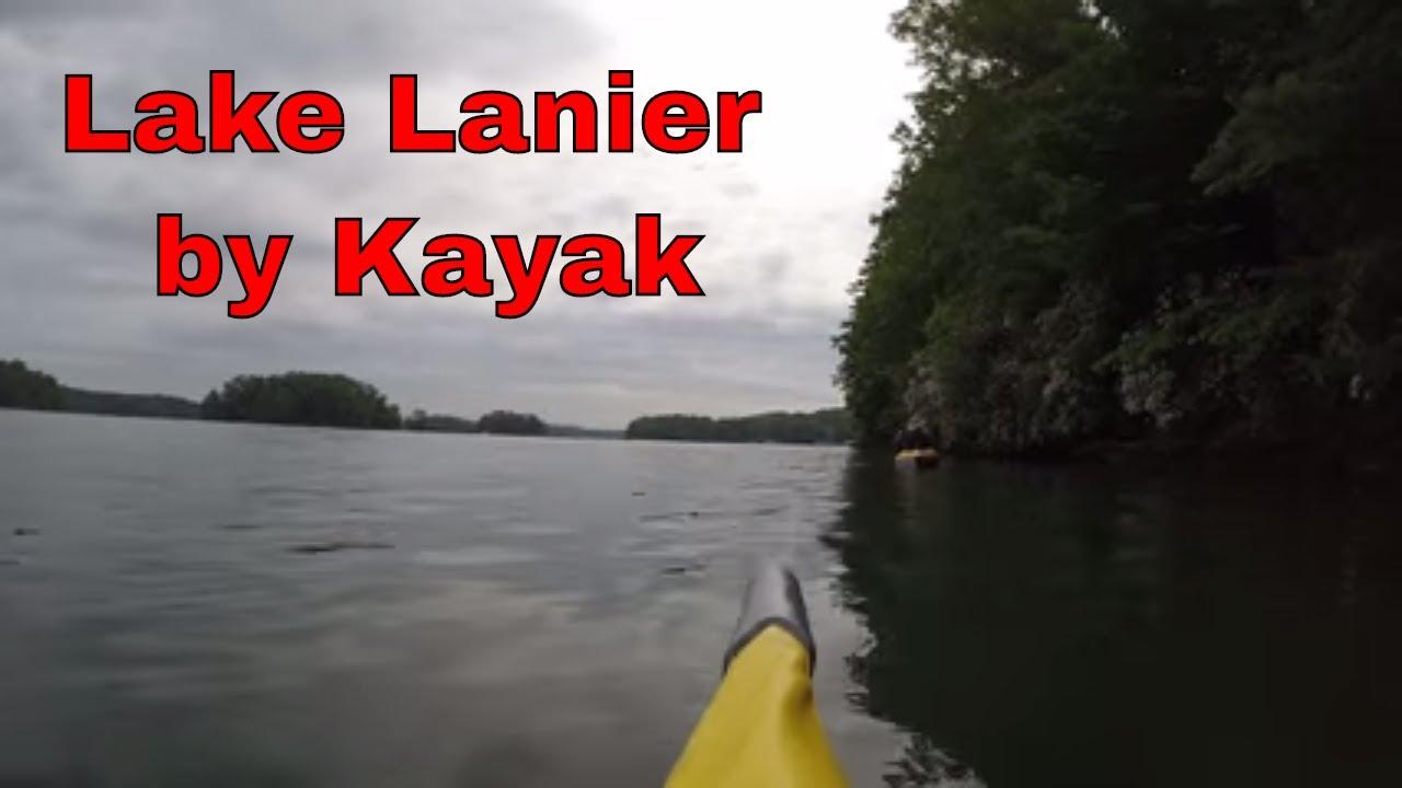 Kayaking on Lake Lanier in