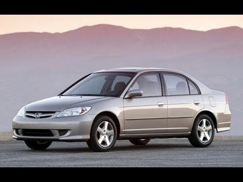 2004 Honda Civic EX Review 1.7 L 4 Cylinder