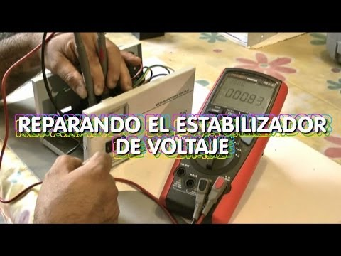 Reparaciones Domesticas - Reparando el Estabilizador de Voltaje