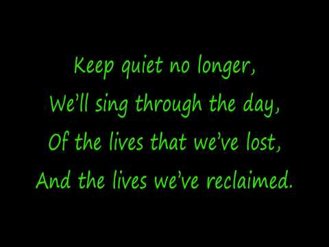 Rise Against - Prayer Of The Refugee (Lyrics) HD