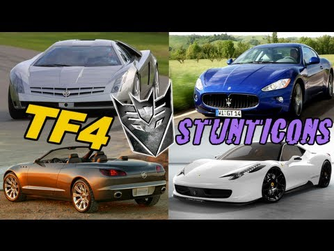 Ferrari. Maserati. Cadillac Cien CONFIRMED to be in Transformers 4 - [TF4 News #28]