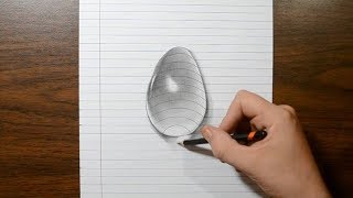 How to Draw a Water Drop - 3D Trick Art