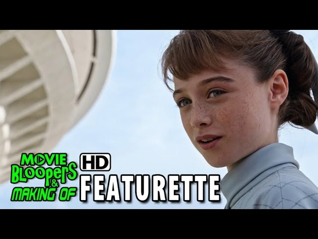 Tomorrowland (2015) Blu-ray/DVD Featurette - Raffey Cassidy