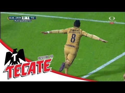 Gol Pablo Barrera | Pumas 1-1 Tigres | Liguilla Apertura 2016 | Televisa Deportes