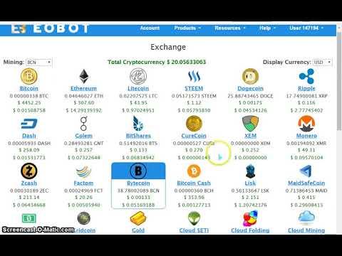 bitcoin cash eobot