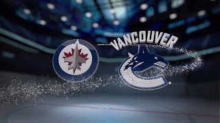 Winnipeg Jets vs Vancouver Canucks - October 12, 2017 | Game Highlights | NHL 2017/18. Обзор матча.