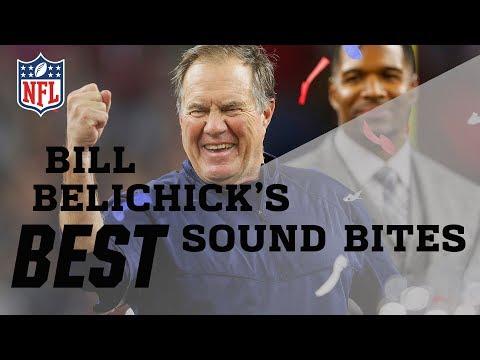 Bill Belichicks Best Sound Bites  NFL
