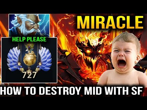 Miracle- Shadow Fiend How to Completely Destroy Mid Dota 2
